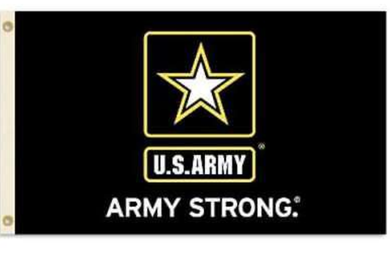 Army Black Knights Army Strong Banner Flag 3*5ft