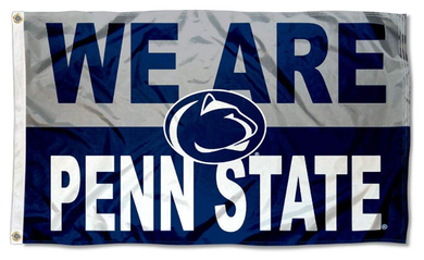 Penn State Nittany Lions We Are Penn State Banner Flag 3*5ft