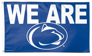 Penn State Nittany Lion We Are Banner Flag 3ft*5ft