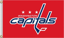 Load image into Gallery viewer, Washington Capitals Flag 3x5 ft 100D