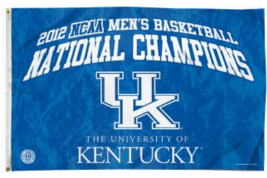 Kentucky Wildcats National Champions Banner Flag 3*5ft