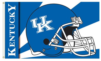 Kentucky Wildcats University Helmet Banner Flag 3*5ft