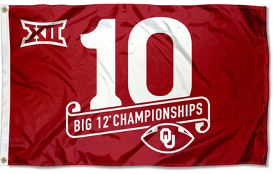 Oklahoma Sooners 2016 Big 12 Champions Banner Flags 3*5ft