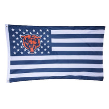 Load image into Gallery viewer, Chicago Bears Banners Flags 3ftx5ft