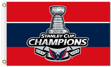 Washington Capitals Stanley Cup Champion Flag