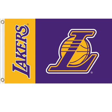 Los Angeles Lakers flag 3ftx5ft
