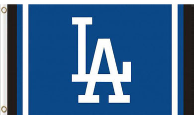 Los Angeles Dodgers custom flag 3ftx5ft