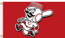 Load image into Gallery viewer, Cincinnati Reds Baseball Club flags 3ftx5ft