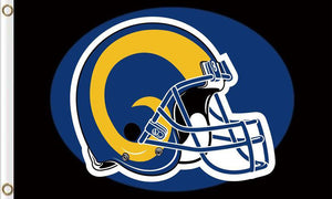 Los Angeles Rams Club Logo Sports Flags 3ftx5ft
