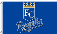 Load image into Gallery viewer, Kansas City Royals Flag 3ft x 5ft