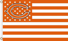 Load image into Gallery viewer, Chicago Bears Flag the Star-Spangled 90*150cm
