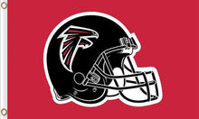 Load image into Gallery viewer, Atlanta Falcons Team Banners Flags 3ftx5ft
