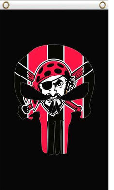 Pittsburgh Pirates skull flags 90x150cm