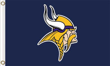 Load image into Gallery viewer, Minnesota Vikings Team Logo Sports Flags 3ftx5ft