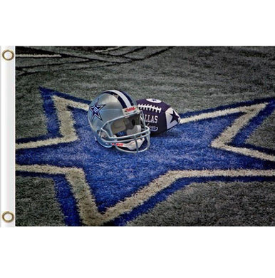 Dallas cowboys helmet flag 90x150cm