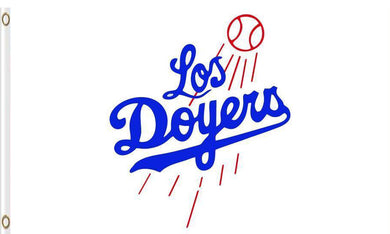 Los Angeles Dodgers baseball flags 3ftx5ft