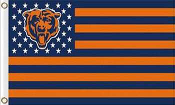 Chicago Bears Flag the Star-Spangled 90*150cm