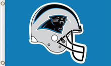 Load image into Gallery viewer, Carolina Panthers Team Flags 3ftx5ft