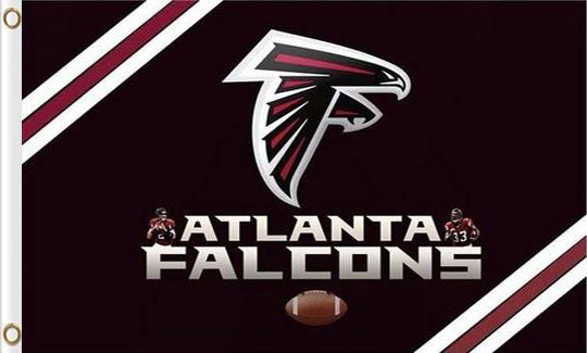 Atlanta Falcons Team Banners Flags 3ftx5ft