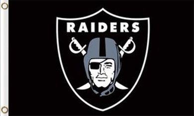 Oakland Raiders Sports Flags 3ftx5ft