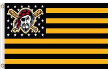 Load image into Gallery viewer, Pittsburgh Pirates Flag 3x5 FT