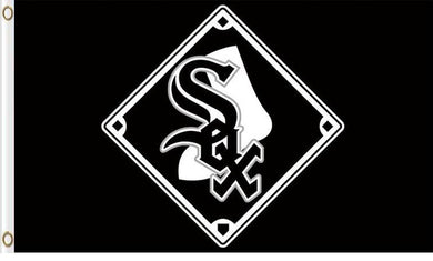 Chicago White Sox Baseball Club flags 3ftx5ft
