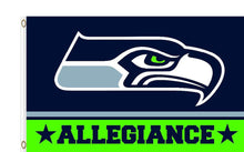 Load image into Gallery viewer, Seattle Seahawks Club Logo Sports Flags 3ftx5ft