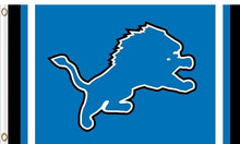 Load image into Gallery viewer, Detroit Lions Logo Two Strip Sport 90*150 CM