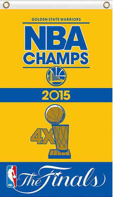 Golden State Warriors 2015 champs flag 3ftx5ft