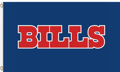 3ftx5ft Buffalo Bills Custom Flag