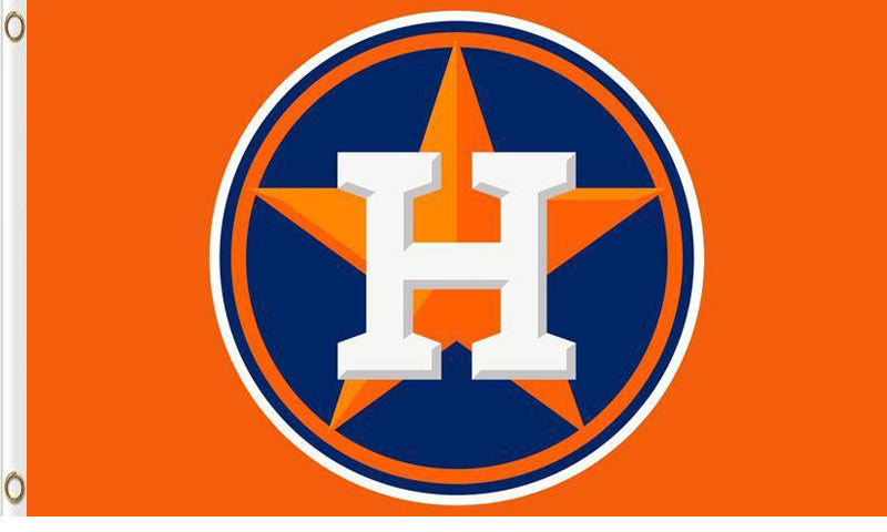Houston Astros Baseball Team Flag 3ftx5ft