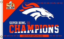 Load image into Gallery viewer, Denver Broncos Flag Super Bowl Flags 3ftx5ft