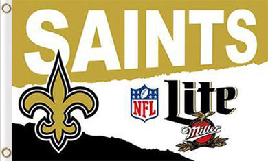 New Orleans Saints Lite Flags 3*5FT