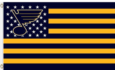 S t. Louis Blues flags 90x150cm