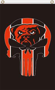 Cleveland Browns bright color 3x5FT team flag