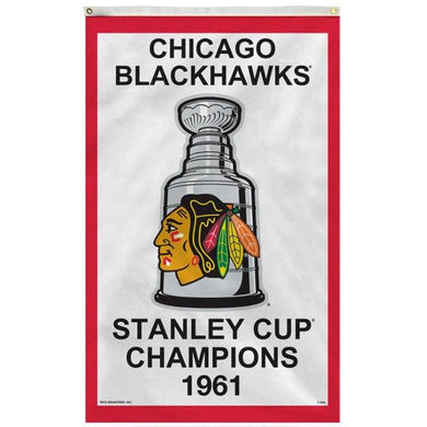 Chicago Blackhawks 1961 Stanley Cup Flag 3x5 ft 100D