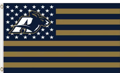 Akron Zips Star and Stripes US Banner Flag 3ftx5ft