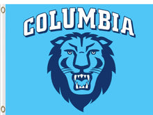 Load image into Gallery viewer, Columbia Lions Hand Flag 3*5ft Club Basketball