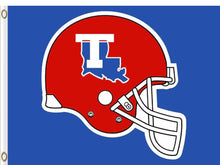 Load image into Gallery viewer, Louisiana Tech Bulldogs flag Digital Printing 3x5FT
