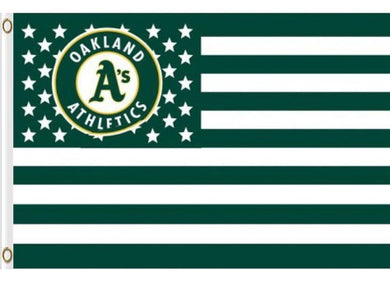 Oakland Athletics USA Stars Banner flag 3ftx5ft
