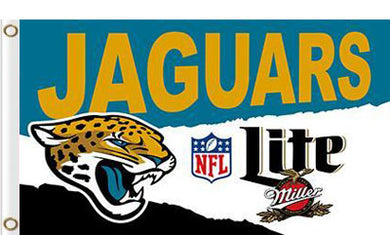 Jacksonville Jaguars Lite Flags 3ftx5ft