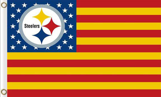 Pittsburgh Steelers Sports Banners Flags 3ftx5ft