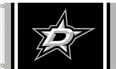 Dallas Stars custom flag 3ftx5ft