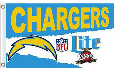 San Diego Chargers Lite Flag 3ftx5ft