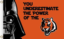 Load image into Gallery viewer, Cincinnati Bengals Star Wars Flags 3ftx5ft