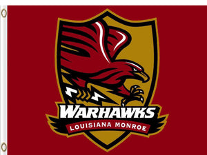 Louisiana-Monroe Warhawks Hand Flag 3*5ft