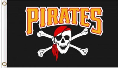 Pittsburgh Pirates Mascot flags 90x150cm