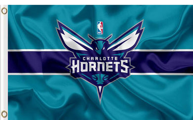 Charlotte Hornets custom flag 3ftx5ft