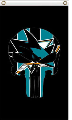 3x5ft San Jose Sharks flag