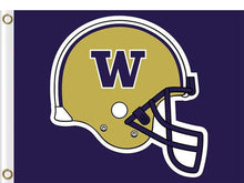 Load image into Gallery viewer, Washington Huskies sports team flag 3x5FT
